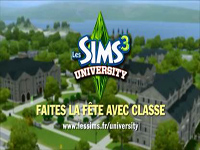 [News] Les Sims 3 University