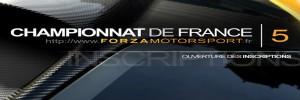"Championnat de France ""Forza Motorsport"""