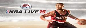NBA LIVE 15  Damian Lillard sur la jaquette slider