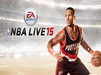 NBA LIVE 15  Damian Lillard sur la jaquette