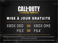 Activision annonce la transition gratuite vers les consoles de nouvelle génération pour Call of Duty Advanced Warfare
