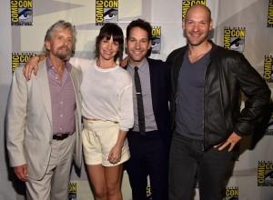 l'équipe du film au Comic-Con