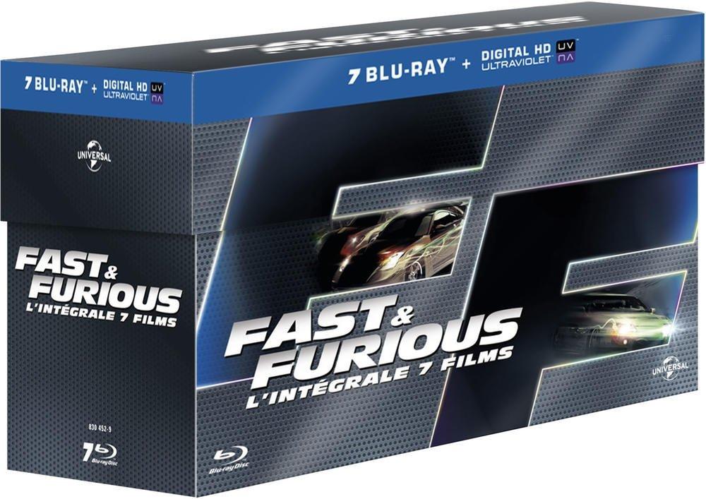 Coup de cœur ciné/blu-ray : intégrale Fast & Furious, un concentré de divertissement avant la rentrée