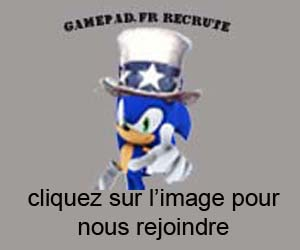 gamepad recrute