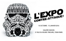 """L'expo contre attaque"" Star wars vu par le street arts"