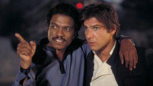 Lando et  Han Solo