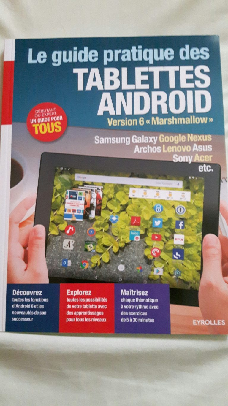 Guide pratique des tablettes android