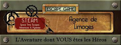 STEAM The Escape Game – Limoges