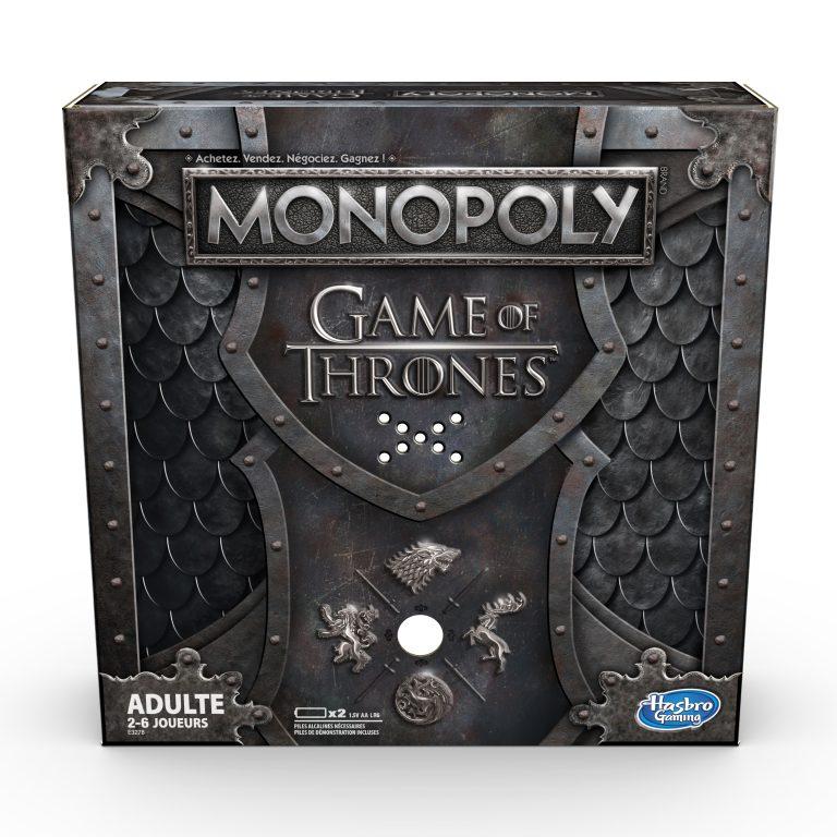 [News] Game of Thrones : Après la fin de la série, découvrez le Monopoly 2ème version !