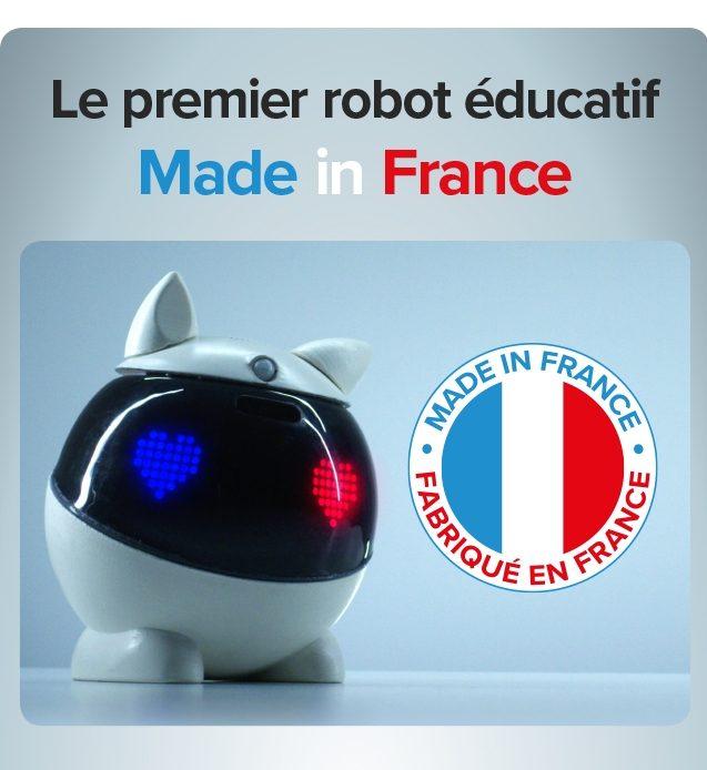 [News] Winky, un robot éducatif interactif et personnalisable