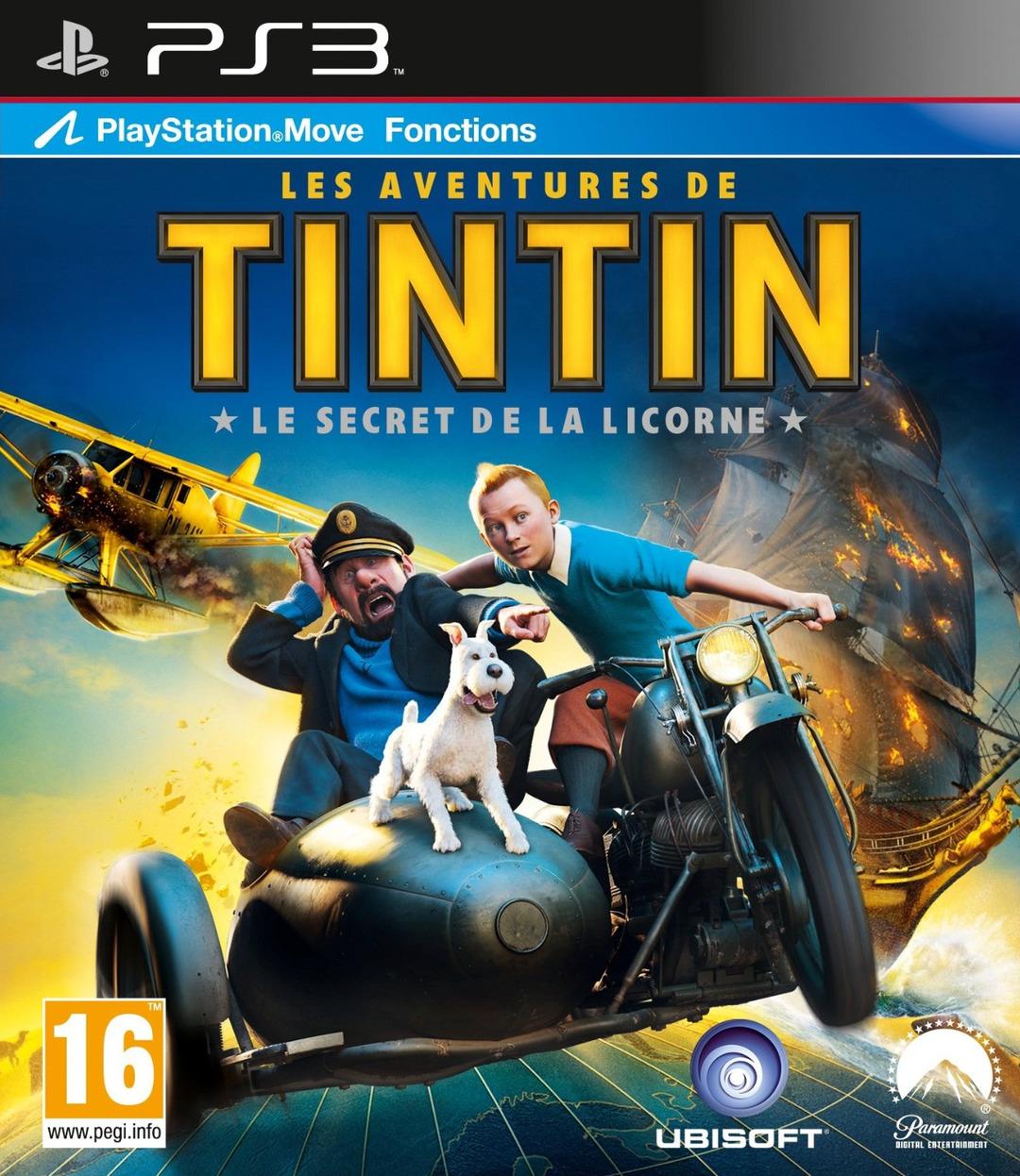 [Test PS3] Les Aventures de Tintin – le secret de la Licorne