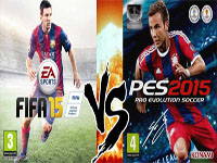 Fifa15 vs PES2015 : le test-match
