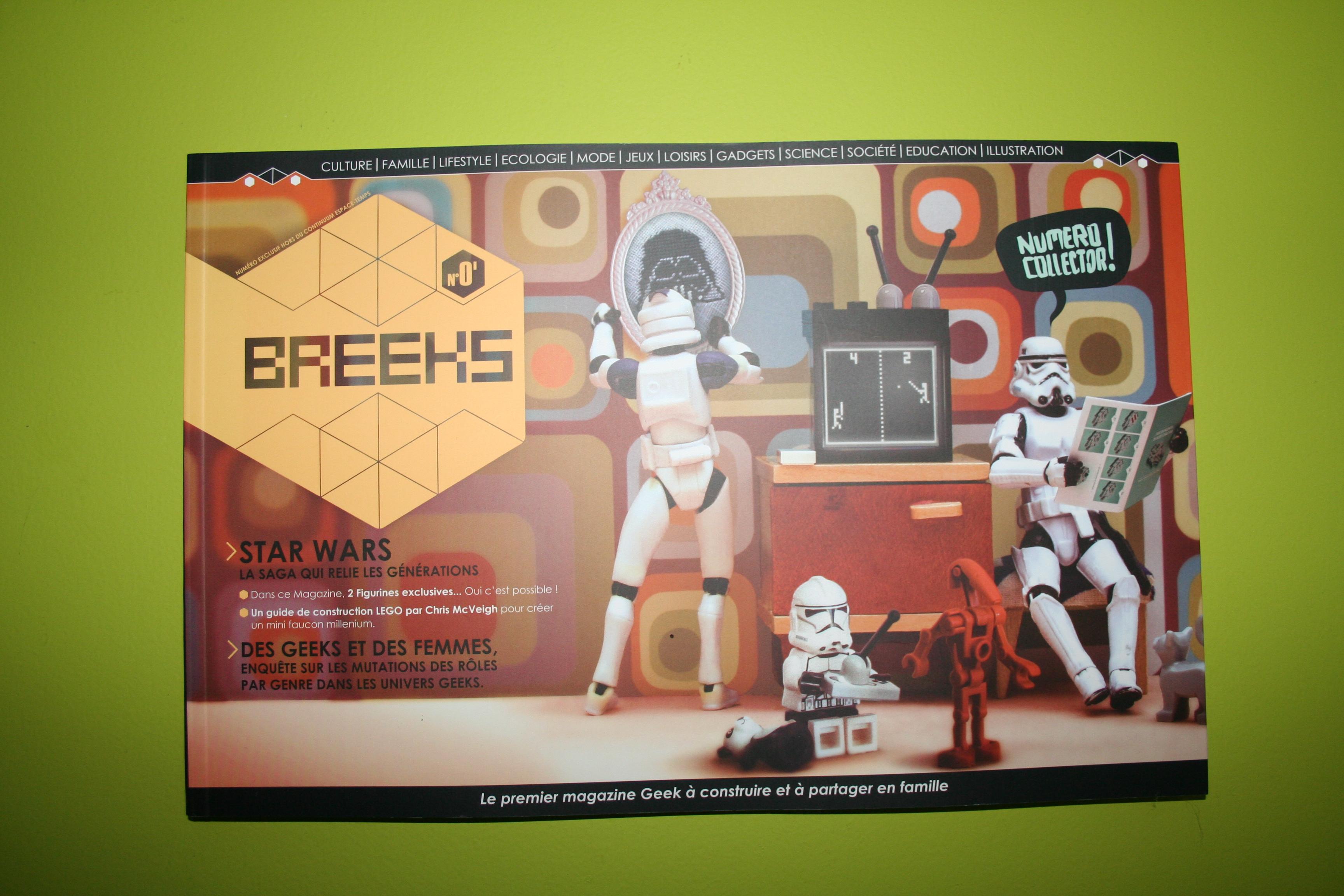 BREEKS, un magazine fait par des geeks pour des geeks !