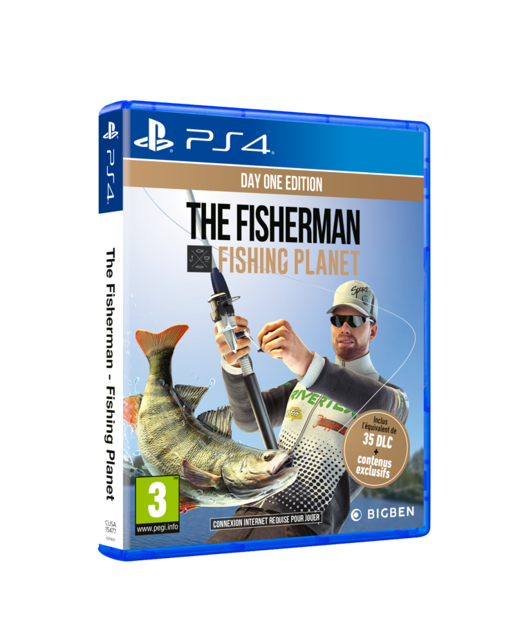 Test The Fisherman – Fishing Planet sur PS4