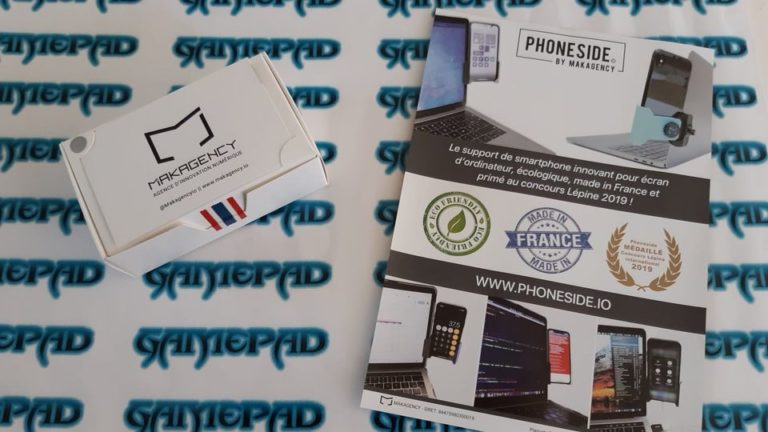 Phoneside ! Le support smartphone Made In France et éco-friendly que vous pouvez adapter directement à votre écran d'ordinateur !