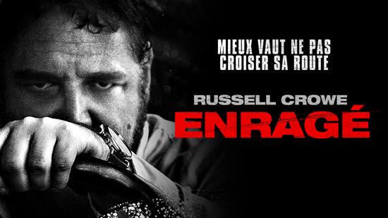 Enragé: un film complètement dingue avec un Russell Crowe totalement dément.